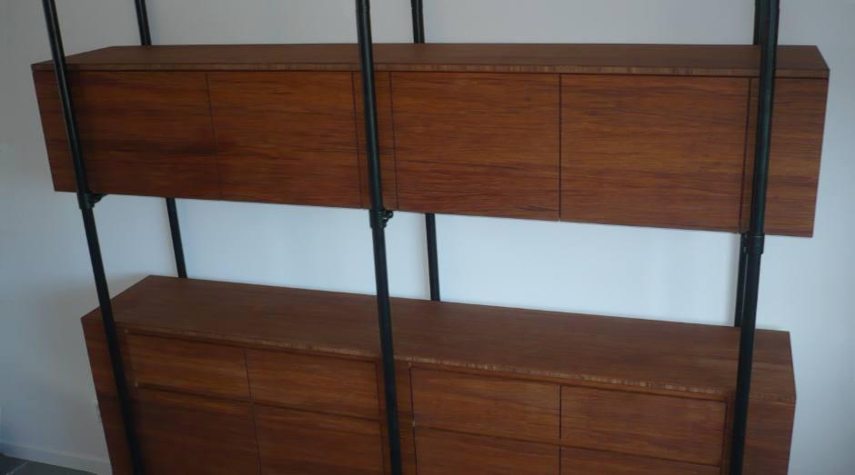 bamboe kast buizen constructie